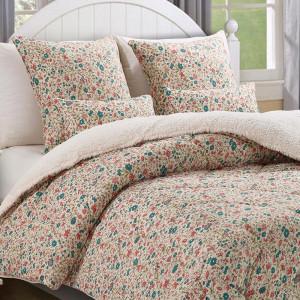edredon conforter sherpa daniela verde